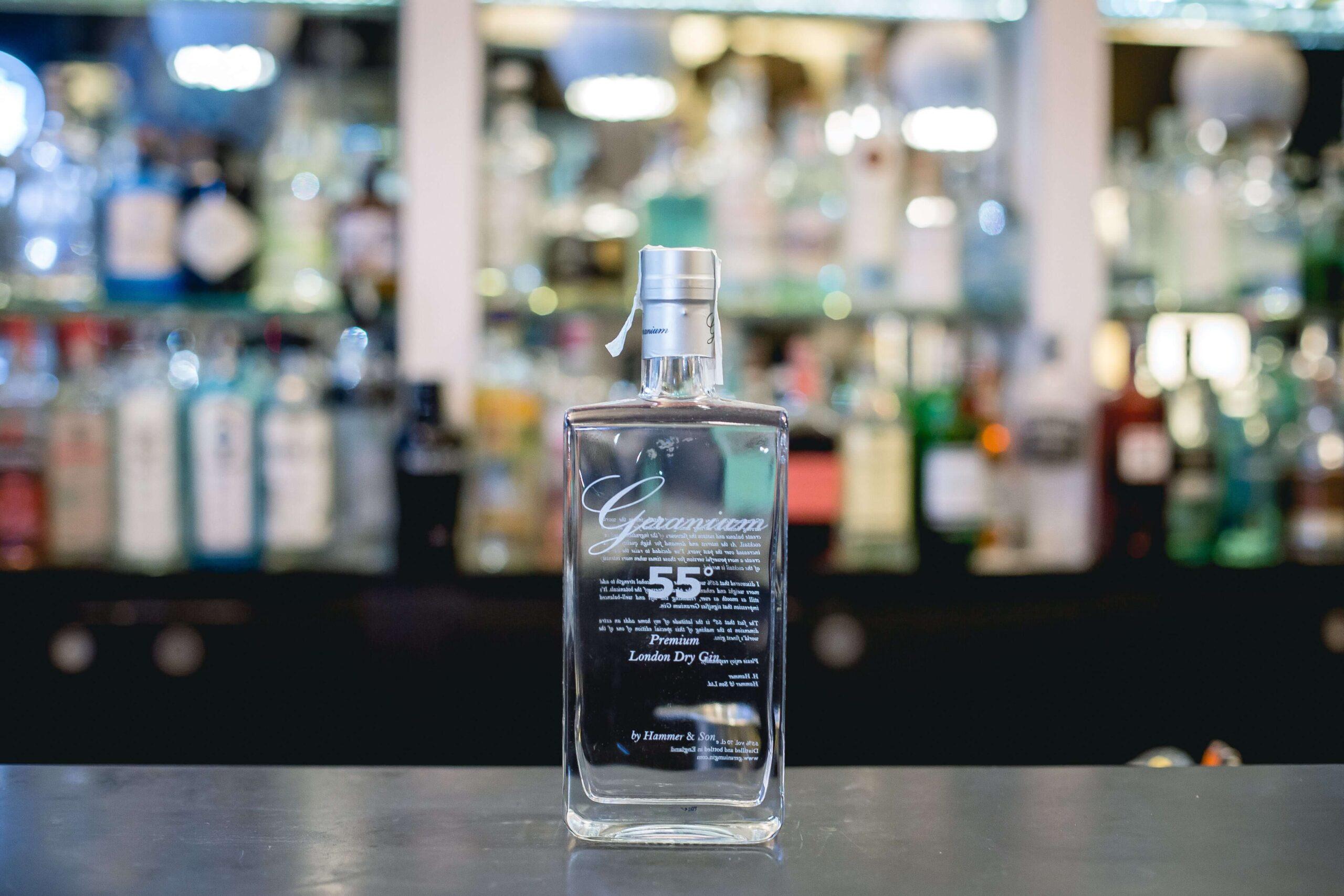geranium 55 gin